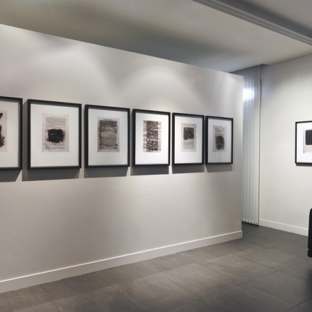 "Joan Fontcuberta, installation view of the exhibition ""Deletrix"". Image © Rebecca Fanuele"
