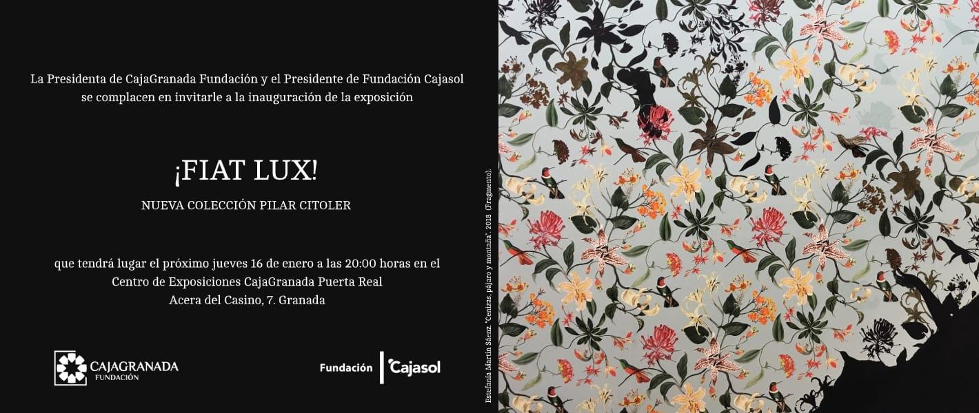 INVITACION FIAT LUX RECTO